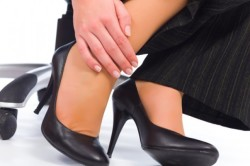 Боль в ноге при растяжении связок голени