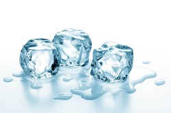 Использование льда при переломе