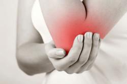 Острая сильная боль при травме локтя