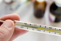 Повышение температуры тела при ожоге борщевиком