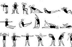 Польза изометрических упражнении