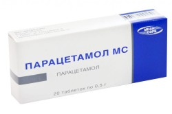 Парацетамол при ожогах