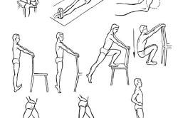 Комплекс упражнений после перелома ноги