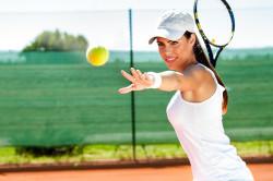 Теннис - причина растяжения предплечья