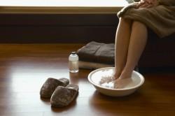 Польза солевых ванночек для костей ног