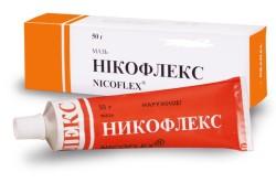 Никофлекс для лечения вывиха