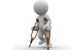 Необходимость костылей при переломе