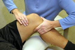 Лечение вывиха колена
