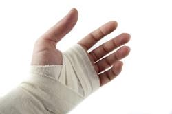 Перевязка раны до приезда врачей