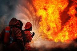 Сочетанная травма в результате пожара