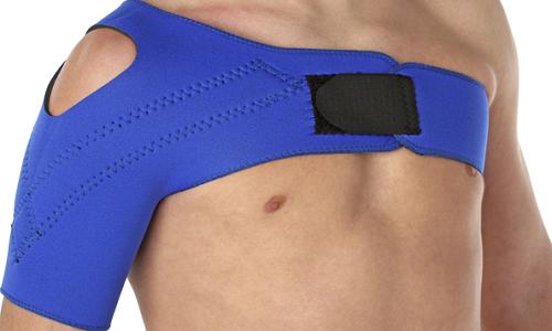 Фиксирующая повязка при вывихе плеча