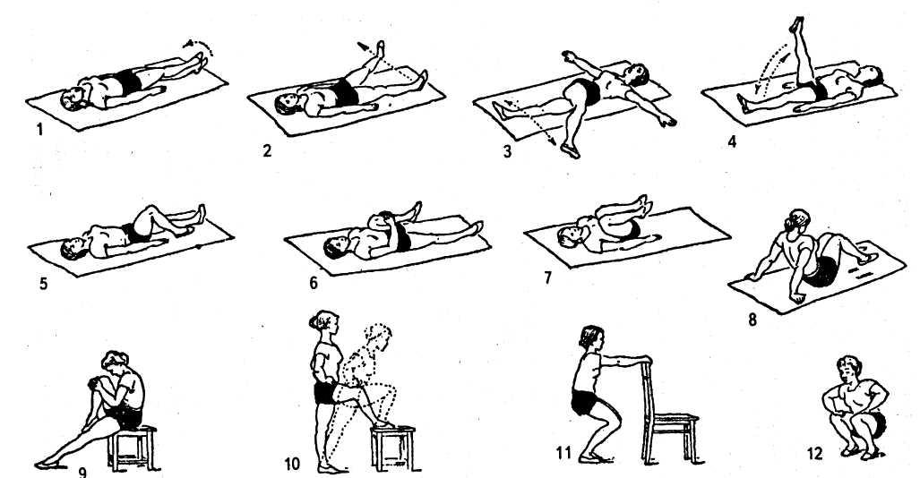 Гимнастика для коленей видео фото 672-873