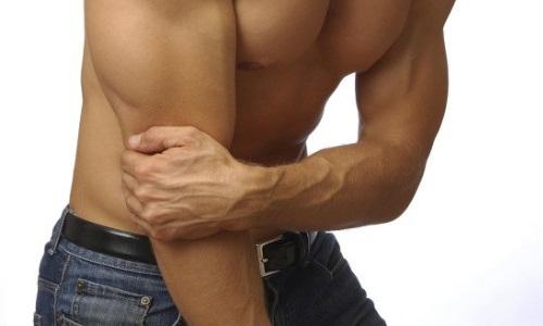 Боль при ушибе локтевого сустава