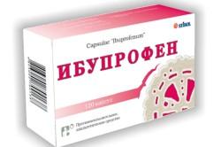 Ибупрофен при растяжении сухожилий на ноге